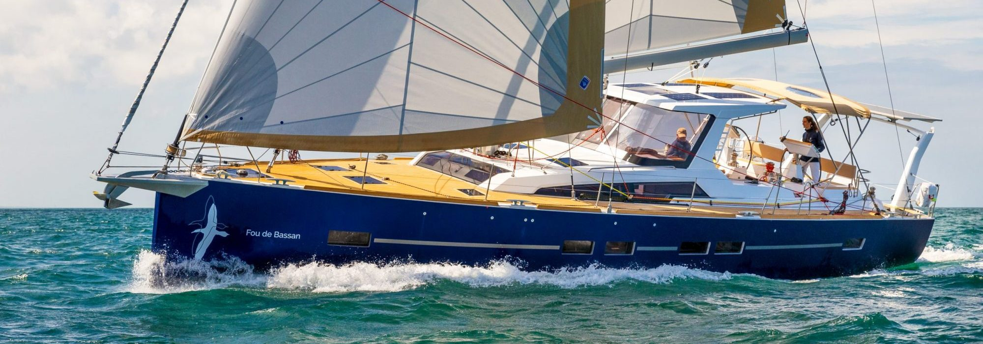 The New Allures 51.9 Aluminium Blue Water Cruiser By Allures Yachting