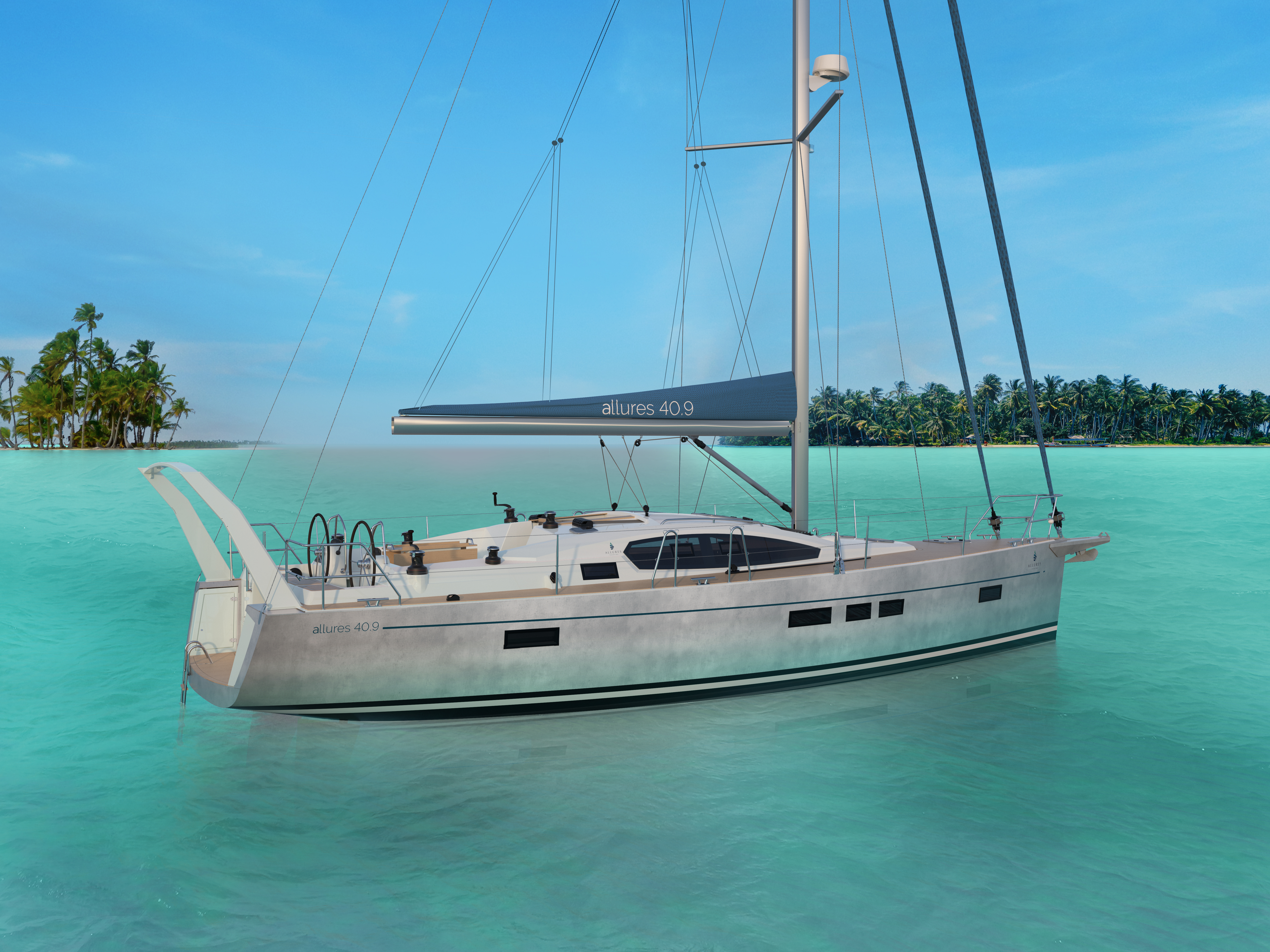 Elegance A La Francaise new allures 40.9 from allures yachting - williams and smithells